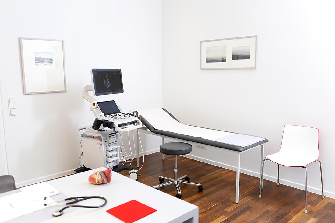 Behandlungszimmer Dr. Diekmann Köln